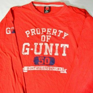 Property of G-Unit 50 Cent Marc Ecko Red
